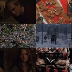; Hunger Games Christmas Aesthetic 1/?? I'm sick...and I never get sick...why @god | #hungergames #everlark #katniss #peeta #haymitch #christmas #asthetic