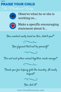 HOW TO praise the Montessori way-1