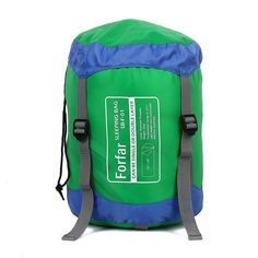 Forfar Envelope Outdoor Single Sleeping Bag Camping Travel Hiking Ultra-light Fleabag * Check out the image by visiting the link.