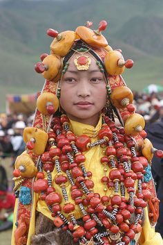 khampa tibetan princess (5 of 9) by BetterWorld2010, via Flickr