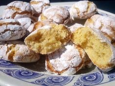 Almond cookies by golosolandia Yummy Treats, Delicious Desserts, Sweet Treats, Best Cookie Recipes, Sweet Recipes, Paleo Dessert, Dessert Recipes, Almond Meal Cookies, Best Cookies Ever