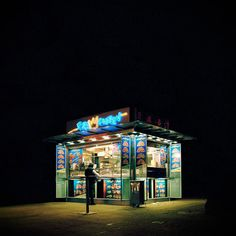 Diner Stand.