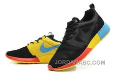 http://www.jordanabc.com/nike-roshe-run-hyperfuse-qs-mens-black-yellow-blue-red-shoes.html NIKE ROSHE RUN HYPERFUSE QS MENS BLACK YELLOW BLUE RED SHOES Only $74.00 , Free Shipping!