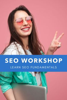 Learn SEO fundamentals and how to do a site audit. Market your business like a PRO!