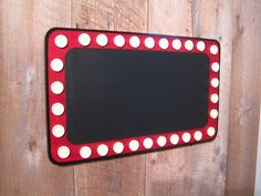 Large Movie Marquee Chalkboard - Wooden. $59.00, via Etsy.