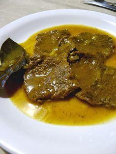 10000MANERAS: FILETES DE TERNERA EN SALSA. Veal sauce. For food or sausage.
