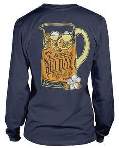 Sweet Tea Bid Day T-shirt!