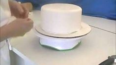 How To Cover A Cake With Fondant--Two Methods, via YouTube.