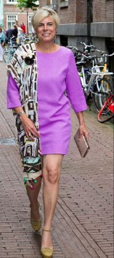Princess Laurentien of the Netherlands during the opening of the international congress for the study of child language at the Amsterdam university, 14.07.2014