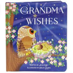 There's a special star in the nighttime sky that only grandmas see...Grandchildren love knowing how special they are to their grandparents. This beautiful keepsake board book is sure to be a family treasure. Do you know there is a special star on which new grandmothers wish? What a lovely gift for new grandmothers and grandbabies.Case-bound board book with padded cover and beautiful embellishments. Full-page illustrations. Nine story spreads.