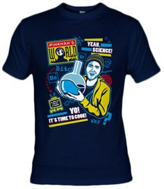 Camiseta Pinkman World by Olipop - Fanisetas.com