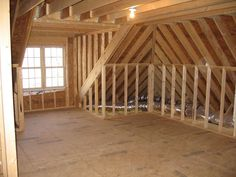 Prepping attic for remodel. I really want an attic space, even if it is just for storage.