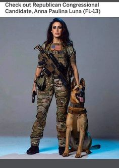 Let's give Republican Congressional Candidate Anna Paulina Luna one! Anna, Patriotic Outfit, Fashion Marketing, N Girls, How To Feel Beautiful, Law Enforcement, Armed Forces, Real Women, Good News