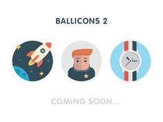 Announce: Ballicons 2 by Gimpo Studio (Nick & Oksana) for PixelBuddha