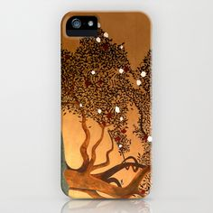 She Hovers iPhone Case by Guillermo de Llera - $35.00