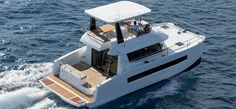 Former Olympian Steve Colgate expands sailing courses to Cape Coral, lifts anchor from the Westin resort for week-long class aboard power catamaran Catamaran For Sale, Power Catamaran, Sailing Courses, Trawler Boats, La Grande Motte, Guest Cabin, Below Deck, Cape Coral, Motor Yacht