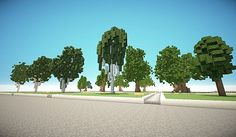 Keno& Tree Repository 1 Minecraft P. Minecraft Modern, How To Play Minecraft, Minecraft Ideas, Minecraft Stuff, Minecraft Garden, Minecraft Medieval, Minecraft Treehouses, Minecraft City Buildings, 10 Tree