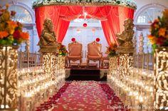 indian wedding ceremony decor venue http://maharaniweddings.com/gallery/photo/5016