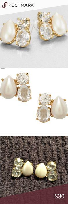 Kate spade earrings!!! Gorgeous Kate spade earrings that are sure to turn heads!!! kate spade Jewelry Earrings