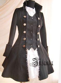 steampunk pirate costume idea.