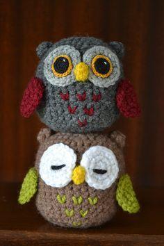 Cute Amigurumi Crocheted Owl Pre-order by TsukiNekoAtelier on Etsy
