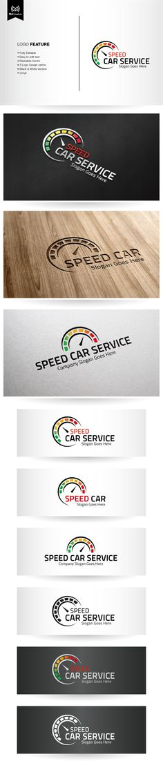 Speed Car Logo on Behance