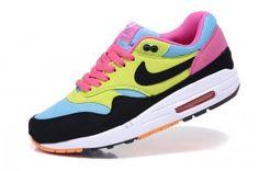 Sconto prezzo scarpe da corsa nike donne air max 1 - nere/gialle/blu/rosa/bianche offerta online roma