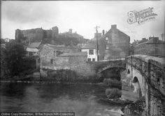 Haverfordwest, Castle And Old Bridge 1948, from Francis Frith