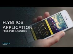 Flibi iOS Application Template [Free PSD included]