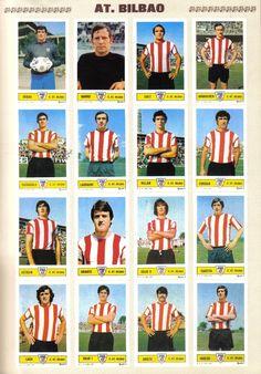CROMOS A. BILBAO - 1973-74
