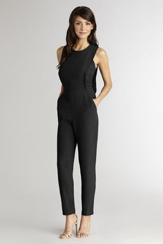 The perfect black jumpsuit to wear from work to play