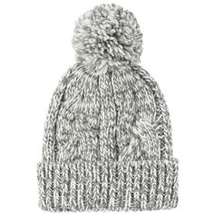 UNIQLO Low Gauge Knit Beanie (Cable) ($12) ❤ liked on Polyvore featuring accessories, hats, cable knit hat, beanie cap hat, cable knit beanie, knit beanie hats and cable knit cap