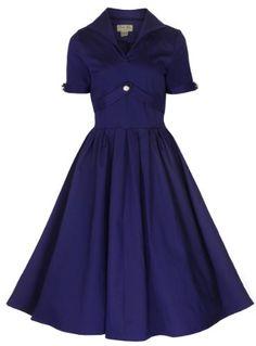 Lindy Bop 'Claudette' Classy Vintage 1950's Rockabilly Style Swing Jive Party Dress (M, Blue) Lindy Bop,http://www.amazon.com/dp/B00FGSWV12/ref=cm_sw_r_pi_dp_j6g3sb14XBT5G7F7