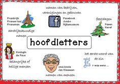 Zo gebruik je HOOFDLETTERS.... School S, School Hacks, Dutch Language, Classroom Tools, Kids Class, Kids Education, Website, Bible Quotes, Kids Learning