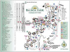 Balboa Park Map   Balboa Park