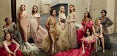 See Annie Leibovitz's portrait of Emma Stone, Natalie Portman, Ruth Negga, and more.
