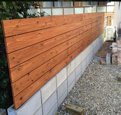 Pioneer Smooth Grey Concrete Sleeper Retaining Wall With A