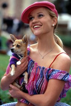 Pageboy hats: Reese Witherspoon in Legally Blonde
