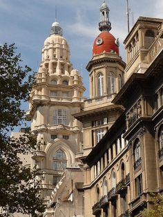 My first home was in this historic red cupula. Palacio Barolo in Buenos Aires, Argentina (by Central America, South America, The Places Youll Go, Places To Go, Southern Cone, Equador, Second Empire, Beautiful Places In The World, Beautiful Buildings