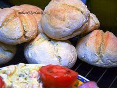 Smak, zapach, kolor, tradycja z nutką nowoczesności...: Bułeczki śniadaniowe -łatwe bułeczki -domowe piecz...