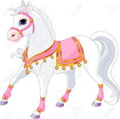Bambino Rosa A CAVALLO UNICORNO PASSO #Fantasy in un vestito Taglia Costume