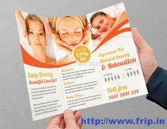hair salon brochure templates