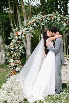 Inspire Blog – Casamentos Casamento ao ar livre de Aline e Rapha - Inspire Blog - Casamentos