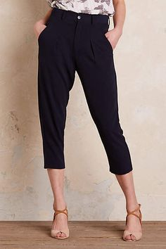 Harlow Tapered Trousers - anthropologie.com