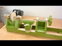 How to build the lathe - YouTube