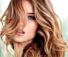 модный русый цвет волос