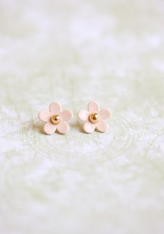 mini Marc Jacobs perfume flower earrings