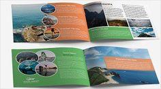 41 best print design images on pinterest travel brochure template