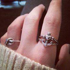 James Avery anchor ring