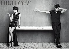 Jung Woo-sung & Han Hyo-joo // High Cut Korea // Vol. 104